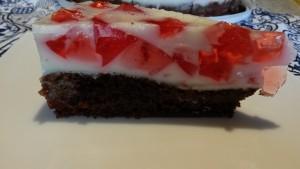 Торт клубничный с клубничным желе