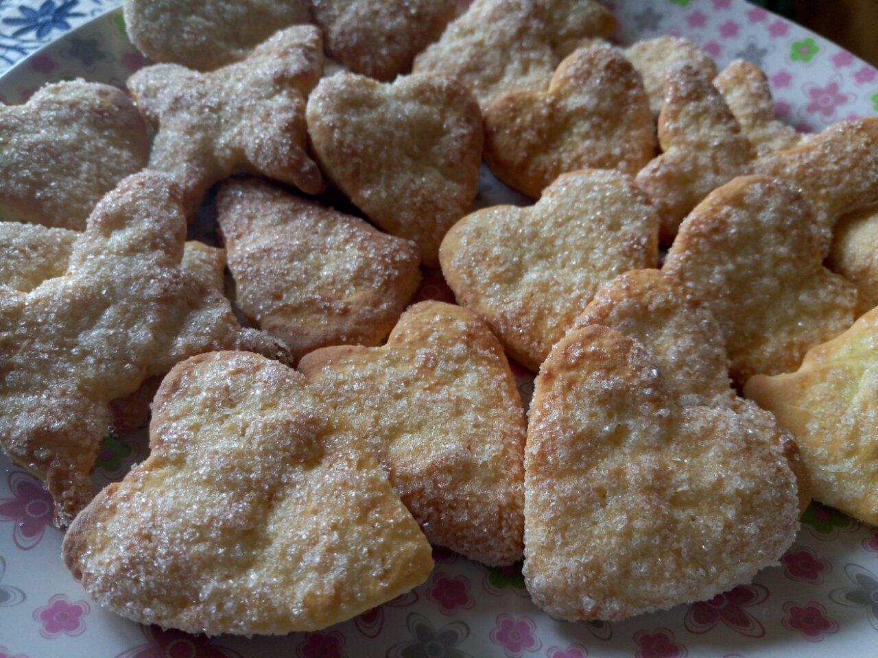 Творожные печенье без масла рецепт пошагово