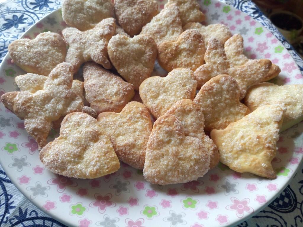 Творожное печенье (без масла)